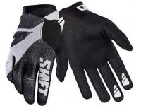 Мотоперчатки Shift Black Pro Glove Black/White M (18767-018-M)